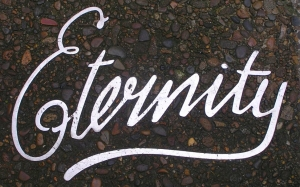 Immortalised in pavement - Arthur Stace's 'Eternity' graffiti