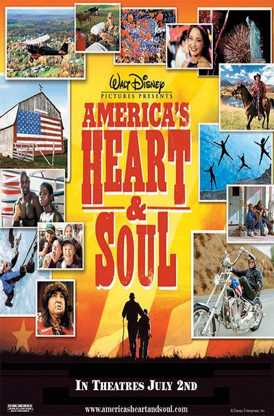 Disney Americas Heart and Soul poster