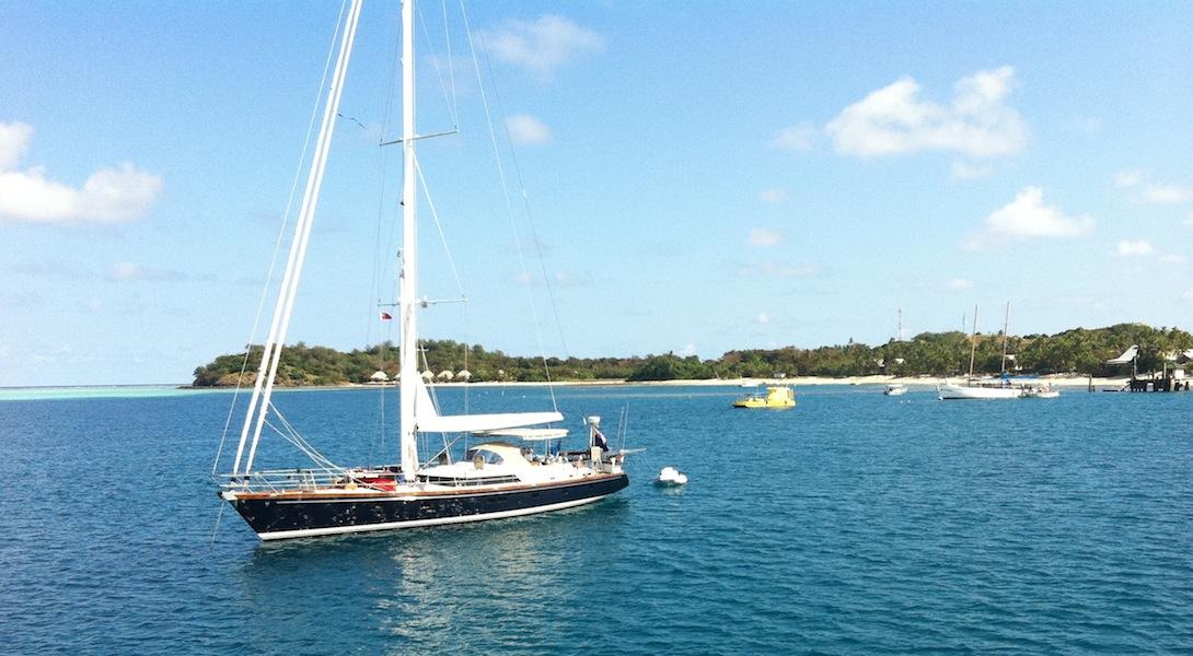 Fijian sailing boats
