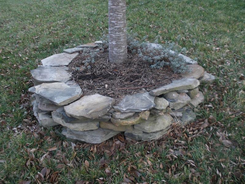 Tammy Schmitt Casa Mariposa - invertebrate garden - stonework