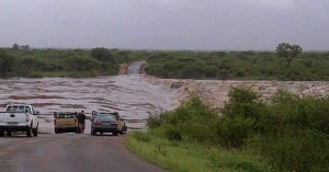 Flooding in Kruger NP