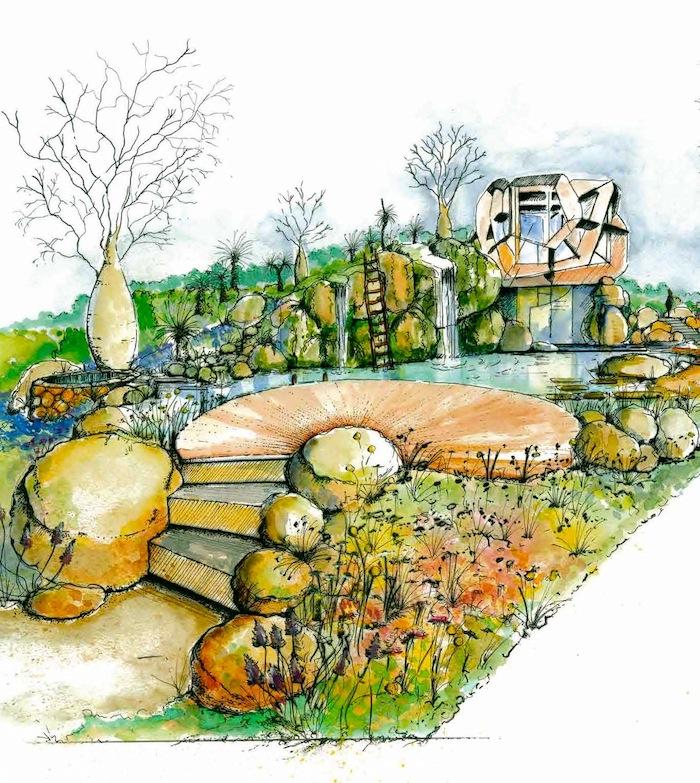 Phillip Johnson's Chelsea Garden 2013