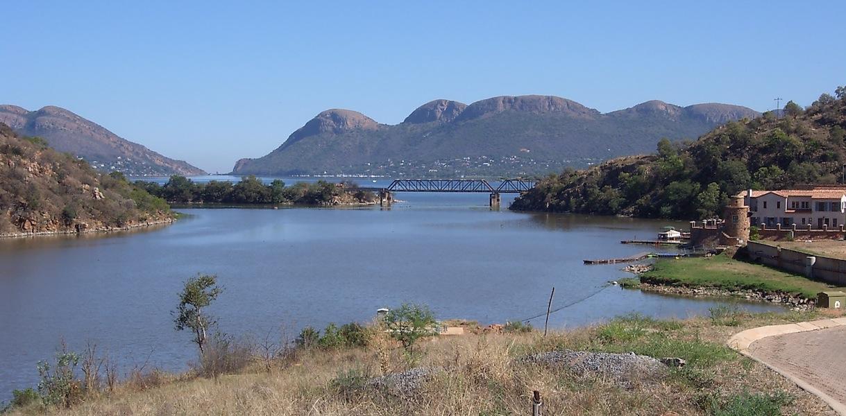 View to Hartebeespoort Dam