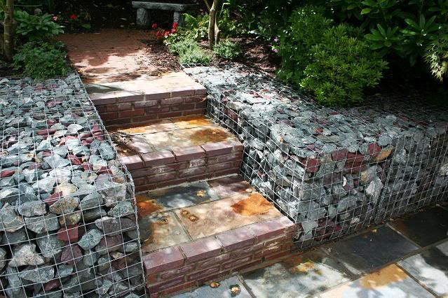 Gabion design ideas gardendrum Gabion wall design