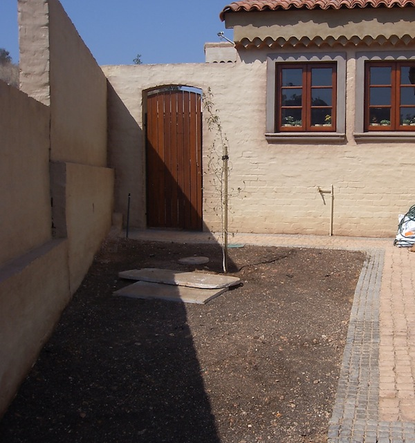 Proposed kitchen garden