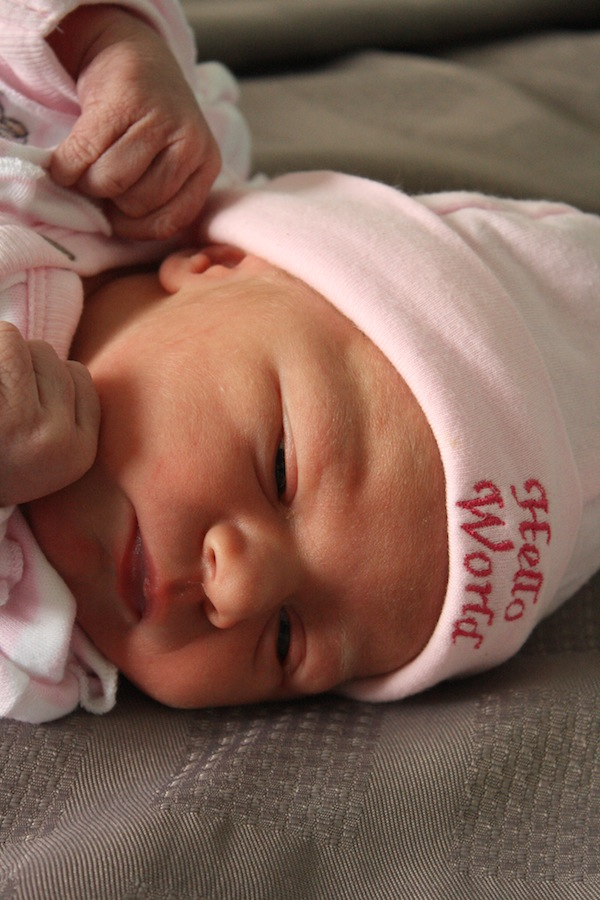 Baby Claudia Christine (6.26lb/2.85kg)
