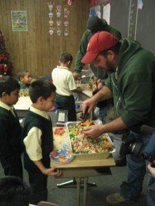 Camden City Children's Garden GrowLab Salad party