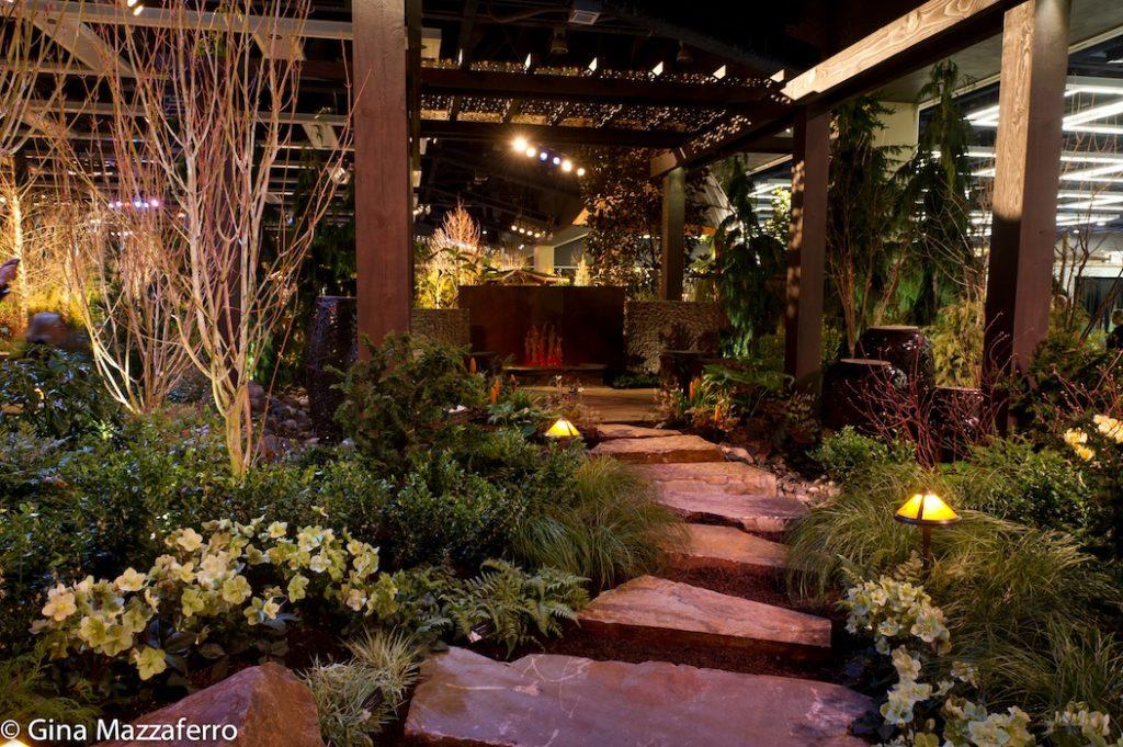 Sublime Garden Design Resonating Sounds of Nature show garden