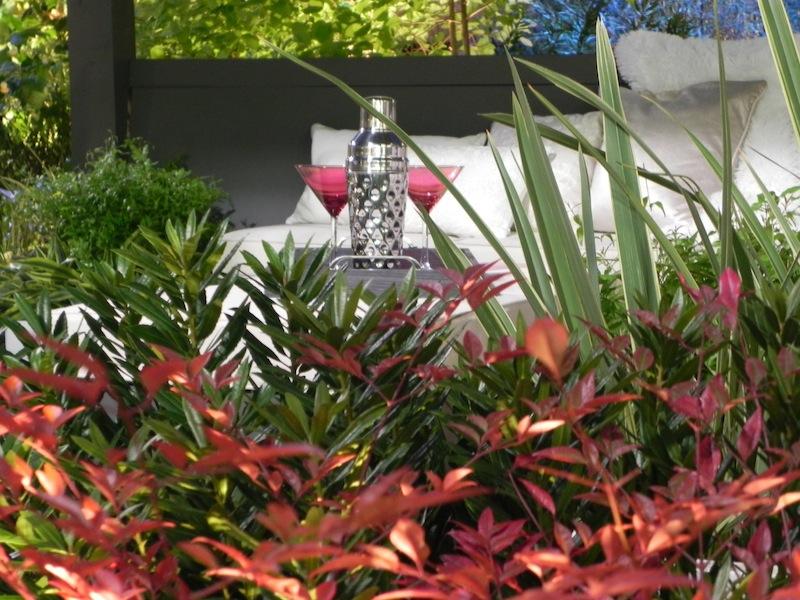 Sublime-Garden-Design-Northwest-Flower-and-Garden-Show-2013 cocktails