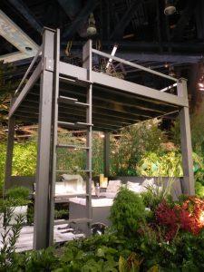 Sublime-Garden-Design-Northwest-Flower-and-Garden-Show-2013 star gazing cabana