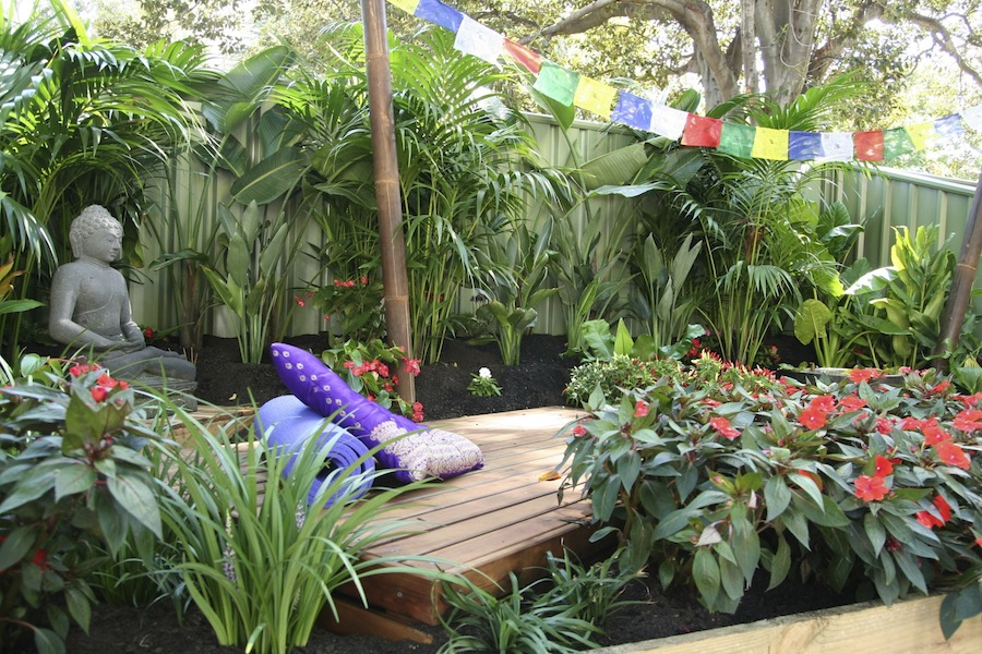 Beautiful Tranquil Meditation Garden