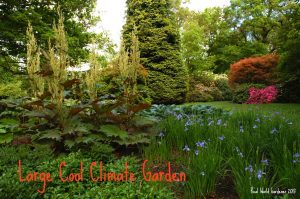 3. Large cool-climate garden at Lysokiton