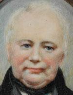 William Lawson c.1840, miniature portrait