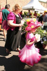 Pretty girl at Plant Collectors' Fair 2013