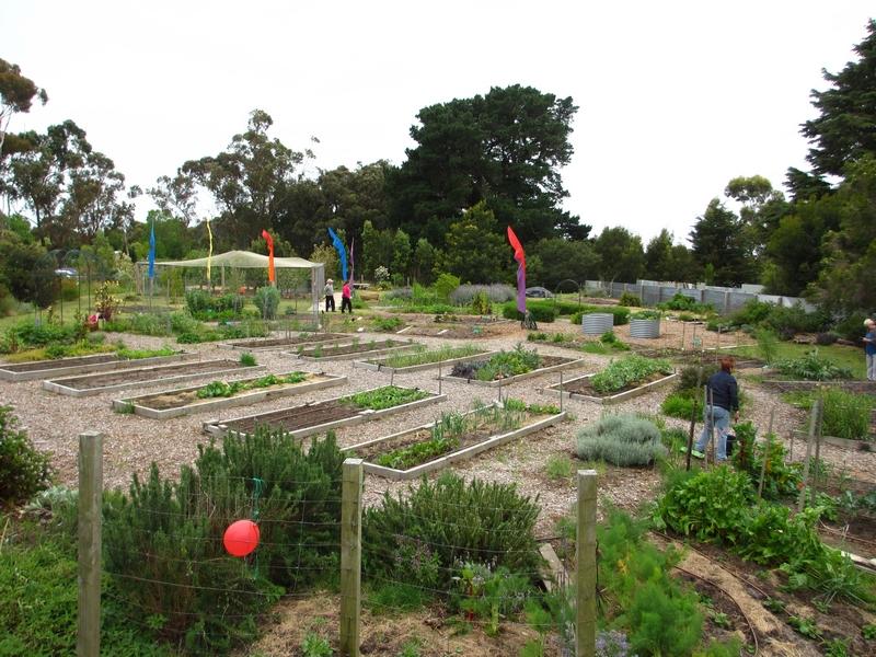 Crib Point Community Garden, called 'The Crib'