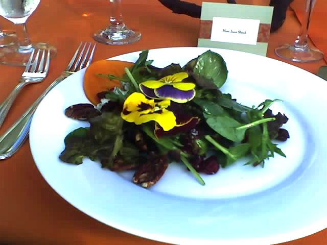 Deliciously pretty salad Photo by Miss O'Crazy