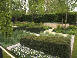 Laurent Perrier garden Chelsea 2013