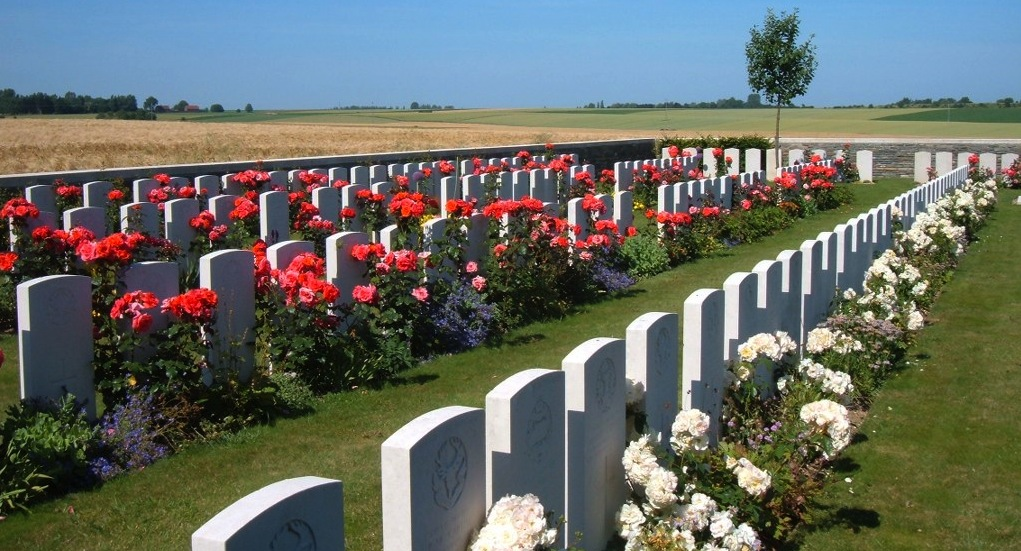 Orival Wood Cemetery, Flesquieres FRANCE CWGC