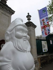Gnome at Chelsea Flower Show 2013