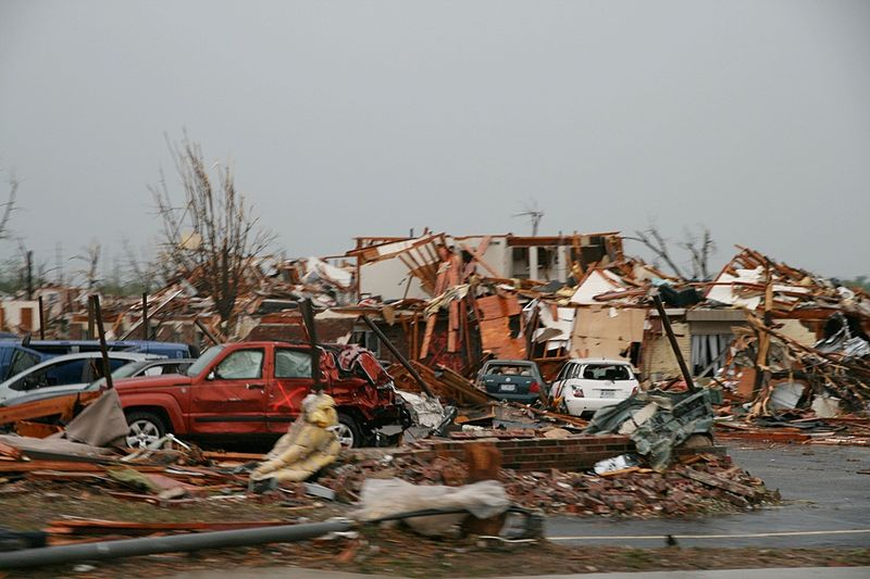 Joplin Missouri after the 2011 tornado. Photo KOMUNews