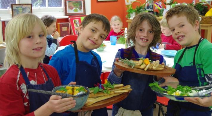 School kids love the Stephanie Alexander Kitchen Garden program