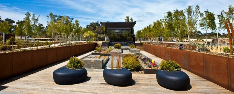 The spectacular Australian Garden at Cranbourne is part of the Garden Tour