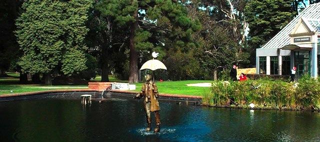 Rain Man fountain by Corey Thomas and Ken Arnold