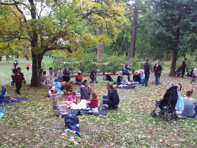 Kyneton community at the recent Teddy Bears Picnic