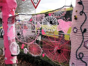 Yarn bombing in Tauranga