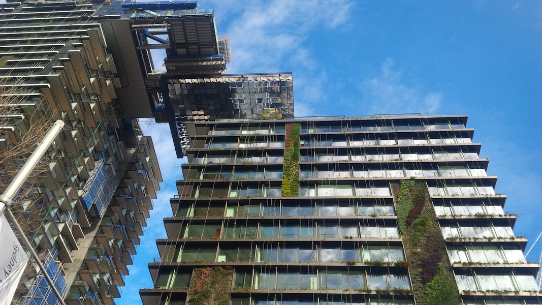 Central Park Sydney Greenwall Project Gardendrum