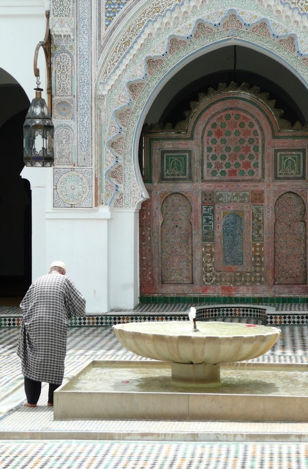 Fountain at the Karaouiyine Mosque