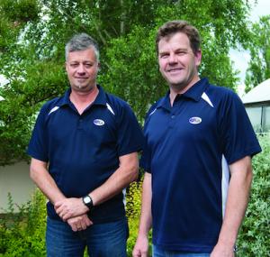 Howard Bentley and Steve Eggleton
