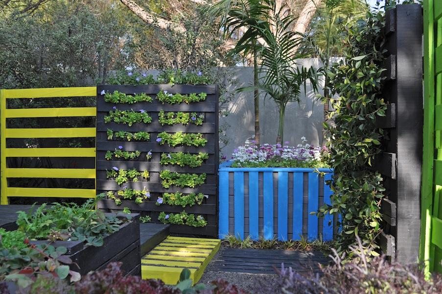 The Neon Garden Box at Garden World 2013