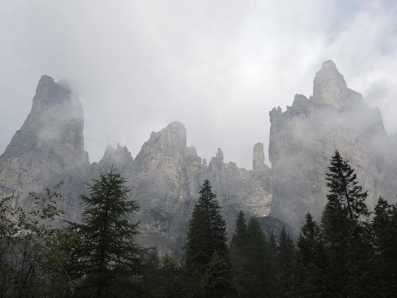 Near the Civetta ridge, Dolomites
