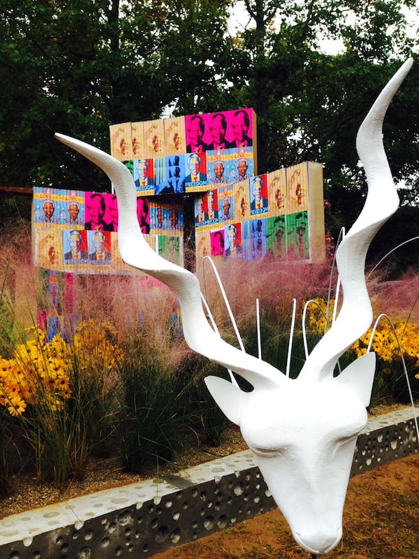 Koedoe sculptures in 'Breaking free' Design Leon Kluge