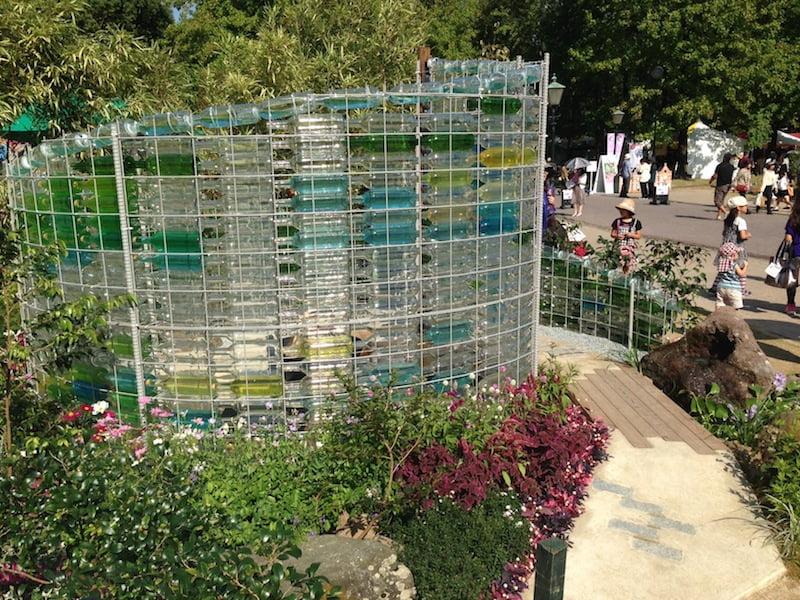 'Glass bottle sanctuary' Design Bayley LuuTomes NZ