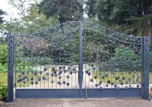 New gates at Burnley