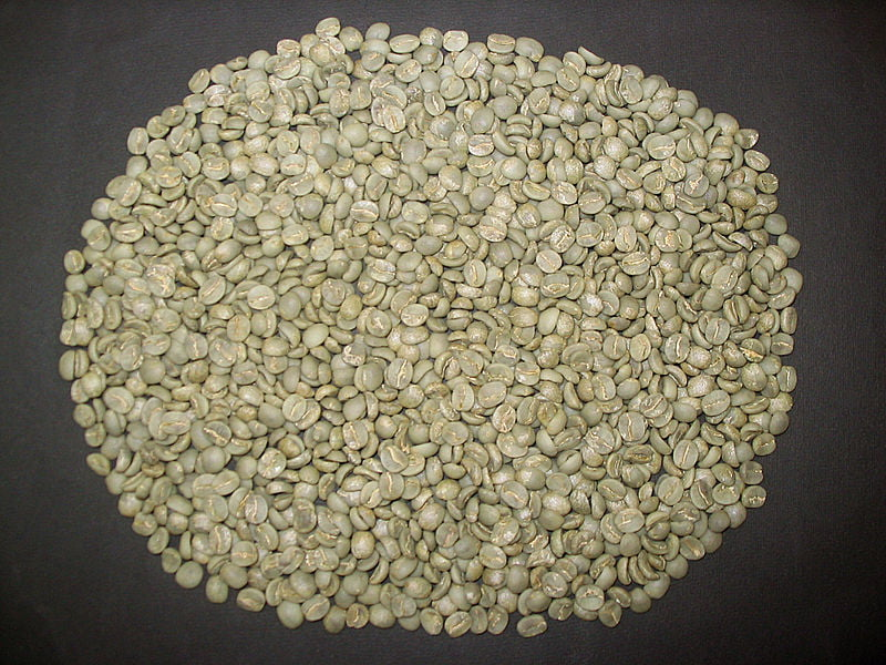 Unroasted coffee beans. Photo Fernando Rebêlo