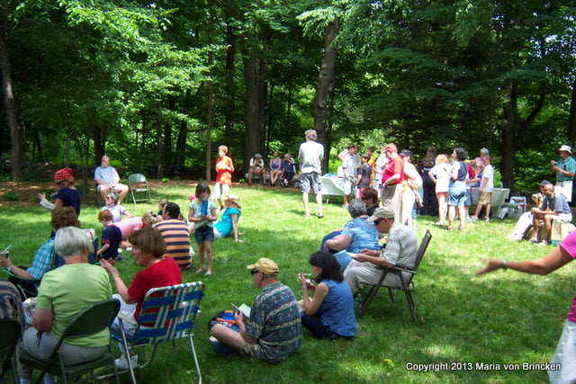 The town of Carlisle celebrates its park's birthday each year