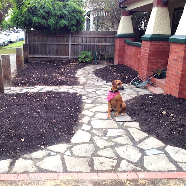 Reclaimed Concrete Blocks: How To Lay A Recycled Concrete Path