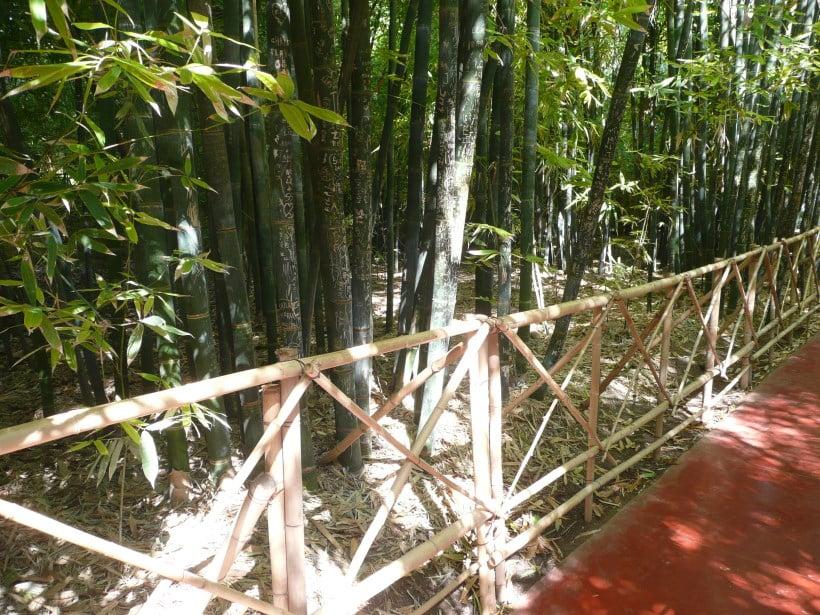 Jardin Majorelle Bamboo railing