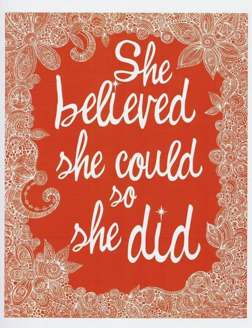 she believed 3