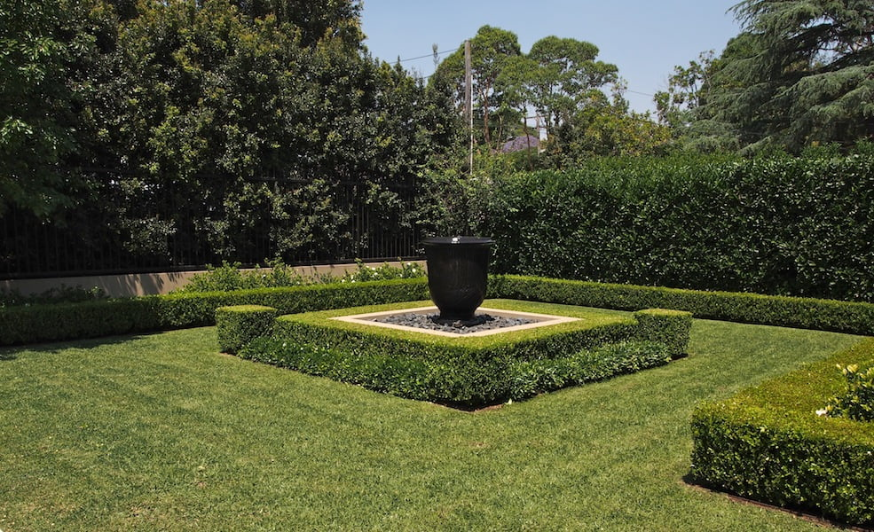 The front garden -Design Paul Bangay Killara garden, Sydney