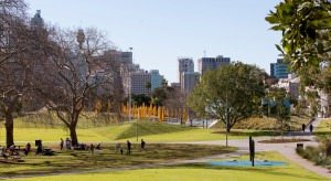 Prince Alfred Park and Pool. Photo Brett Boardman