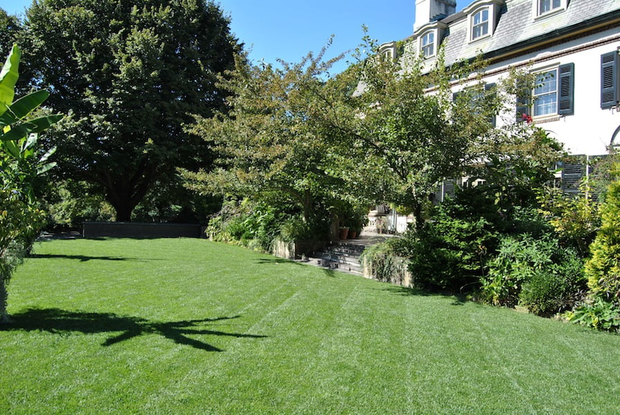 Sweeping lawns of Chanticleer Garden, PA