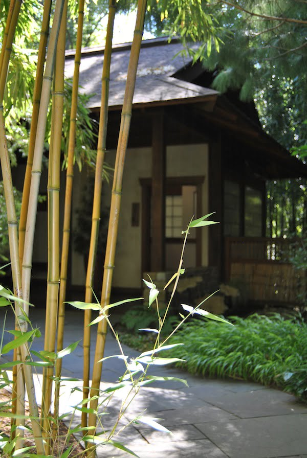 Japanese-style section in Chanticleer Garden, PA