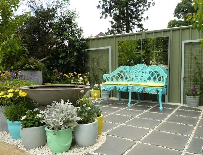 MIFGS Student garden. Design Brooke Nolan