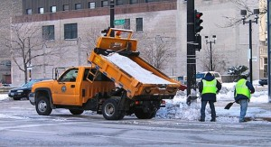 Salt truck Milwaukee Photo Michael Pereckas