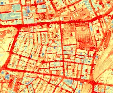 Urban heat buildup in Sydney