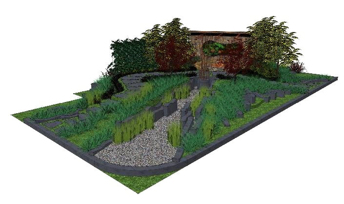 'The Patriarch's garden' by Cycas Landscape Design